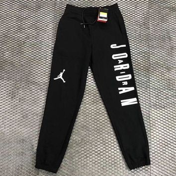 DCCKNQ2 Nike Air Jordan Woman Men Fashion Sport Pants Trousers Sweatpants-1