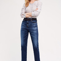 AG Phoebe Ultra High-Rise Tapered Jeans