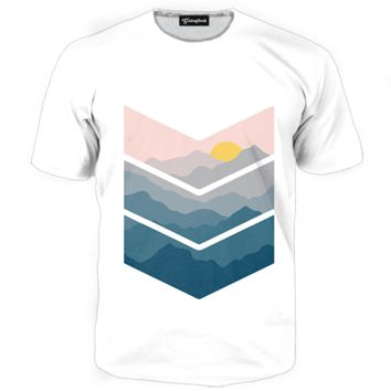 Painted View Tee