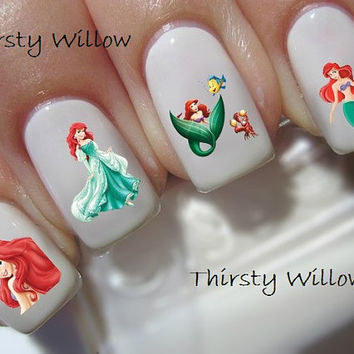 Disney Little Mermaid Nail Decals