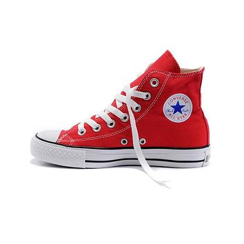 Converse All Star Skateboarding Shoes for Men Original Classic Unisex Canvas High Top Sneaksers Sports Outdoor Womens and man