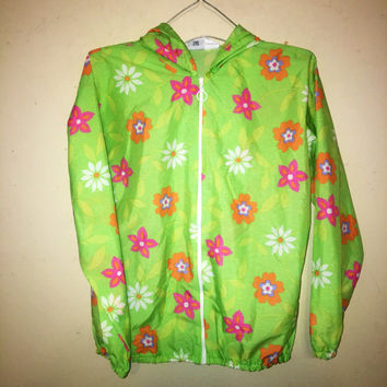 SALE 20% OFF 90s daisy Windbreaker