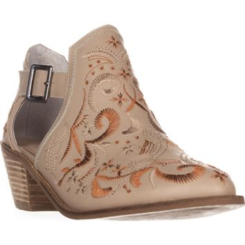 Kelsi Dagger Brooklyn Kline Ankle Boots, Wheat, 7.5 US / 38 EU