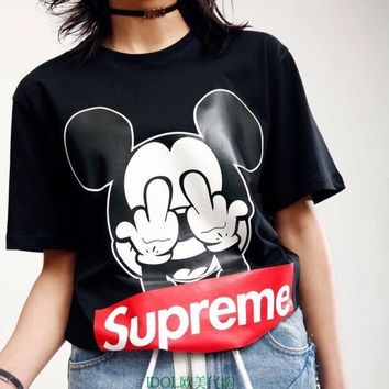Supreme pure cotton T-shirt