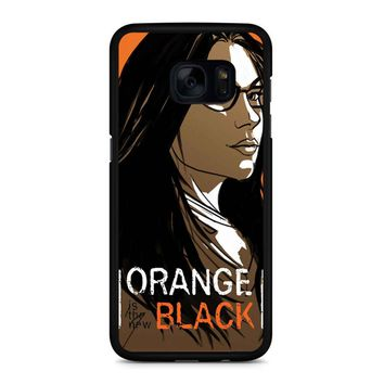 Orange Is The New Black Alex Vause 3 Samsung Galaxy S7 Edge Case