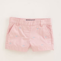 Girls Shorts: Whale Embroidered Boulevard Shorts for Girls – Vineyard Vines