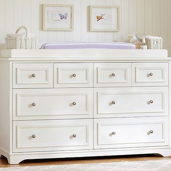 Fillmore Extra-Wide Dresser & Changing Table Topper | Pottery Barn Kids