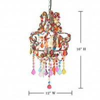 Wake Up Frankie - Petite Salon Chandelier - Multi