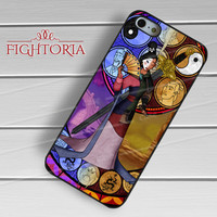 Mulan Stained Glass - z321z for iPhone 6S case, iPhone 5s case, iPhone 6 case, iPhone 4S, Samsung S6 Edge