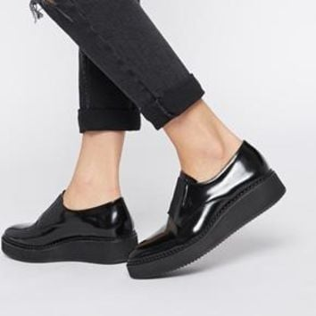 Whistles | Whistles Deris Slip on Flatform Shoes at ASOS