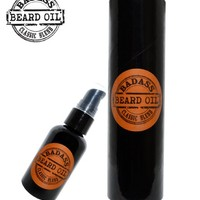 Beard Oil Conditioner 2 oz by Badass Beard Oil - 100% All Natural Beard Softener Formula For Beard Grooming And Beard Care, Convenient Pump Top For Easy Beard Maintenance, Best In Beard Grooming Products - Specially Priced, Limited Supply