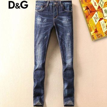 ONETOW Boys & Men Dolce&Gabbana Fashion Casual Pants Trousers Jeans