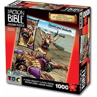 TDC Games Action Bible Jigsaw Puzzle, David and Goliath - Walmart.com