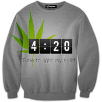 Spliff Time Crewneck