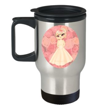 Future bride Travel Cup- Coffee Travel Mug,Premium 14 oz Travel coffee cup
