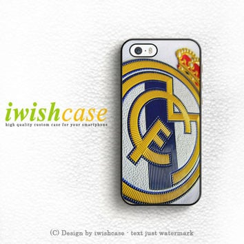Real Madrid Logo iPhone 5 5S 5C Case Cover