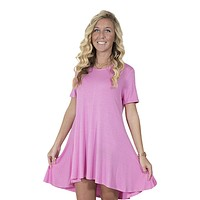 Tunic in Pink by Simply Southern