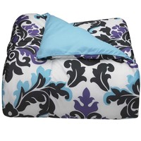 Ashley Damask College Classic Twin XL Comforter | Dorm Bedding and Bath | OCM.com