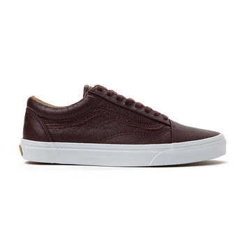 Vans Old Skool Plimsolls in Premium Leather