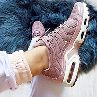 Nike Air Max Plus 97 Fashion Women Personality Air Cushion Sports Running Shoe Sneakers Pink I-CSXY