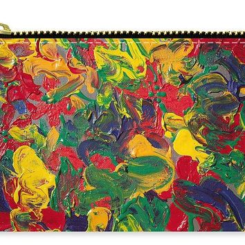 Abstract Painting - Color Explosion - Carry-All Pouch