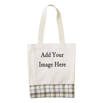 Design Your Own Custom Photo Zazzle HEART Tote Bag