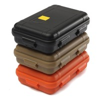 Outdoor Storage Box Case Travel Kit Shockproof Waterproof Emergency Airtight Pill Holder Survival Sundry Container Carrying Box