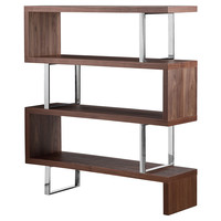 Santoni Bookshelf, Walnut, Bookcases & Bookshelves