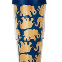 Lilly Pulitzer Insulated Tumbler With Lid- Tusk In Sun