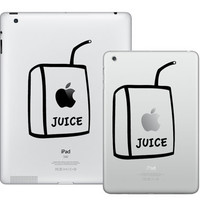 Apple Juice iPad Mini / iPad Decal