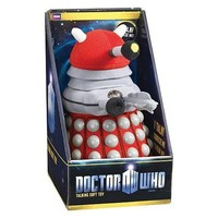 Doctor Who - Talking Red Dalek Plush, Medium, 9-inch Tall by Underground Toys