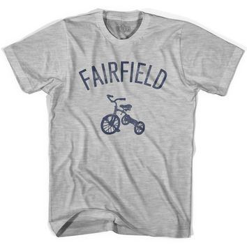 Fairfield City Tricycle Adult Cotton T-shirt