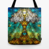 Tree of Life Tote Bag by Mandie Manzano