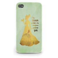 Princess Tiana Quote Disney - Hard Cover Case iPhone 5 4 4S 3 3GS HTC Samsung Galaxy Motorola Droid Blackberry LG Sony Xperia & more