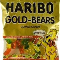 haribo gold bears peg 5 oz Case of 12