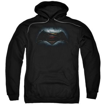 Batman V Superman Movie Logo Untitled Mens/Youth Hoodie