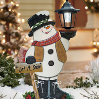 Solar Lighted Holiday Characters