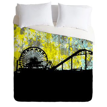 Amy Smith Santa Monica Ca Duvet Cover