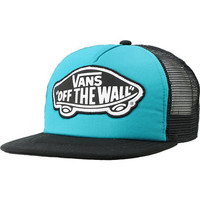 Vans Beach Girl Turquoise & Black Snapback Trucker Hat