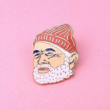 Bill Murray Enamel Pin: Solo Edition