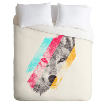 Eric Fan Wild Duvet Cover