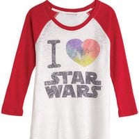 I Heart Star Wars Baseball Tee
