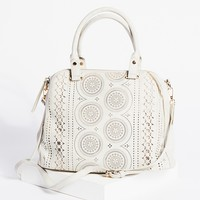 Free People Logan Vegan Perforated Tote
