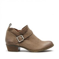 Lucky Brand Boomer Leather Ankle Bootie