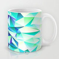 Green & Navy No. 2 Mug by House of Jennifer | Society6