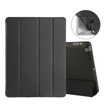 Smart Stand Cover for Apple iPad 2 3rd Generation 4th Generation with Flexible Soft Back TPU Case With Automatic Wake/Sleep
