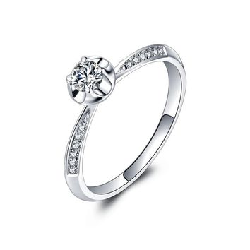 A Carat 18k Gold And White Gold Diamond Ring Platinum Gold Gold Wedding Marriage Couple On The Ring