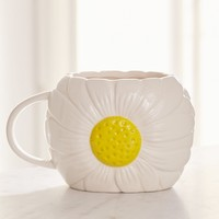 Daisy Shaped Mug | Urban Outfitters