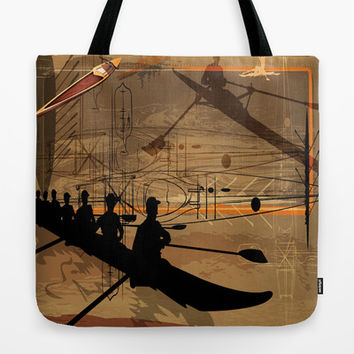 Shall We Row? Tote Bag by Robin Curtiss | Society6