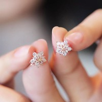 Diamonds Korean Earrings [10399364564]